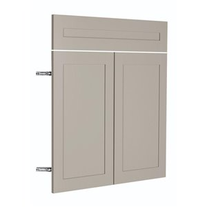 Nimble by Diamond 30-in W x 24-in H x 0.75-in D TrueColor Cloud Base Cabinet Door and Drawer Front