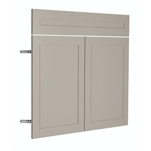 Nimble by Diamond 36-in W x 30-in H x 0.75-in D TrueColor Cloud Base Cabinet Door and Drawer Front