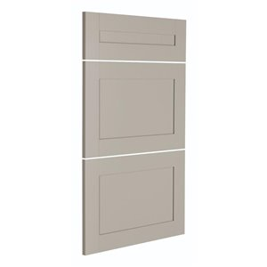 Nimble by Diamond 18-in W x 24-in H x 0.75-in D TrueColor Cloud Base Cabinet Drawer Fronts