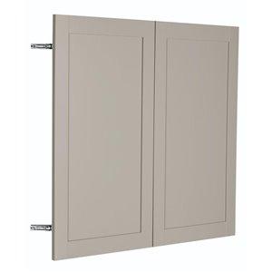 Nimble by Diamond 36-in W x 30-in H x 0.75-in D TrueColor Cloud Wall Cabinet Door | Lowe's Canada