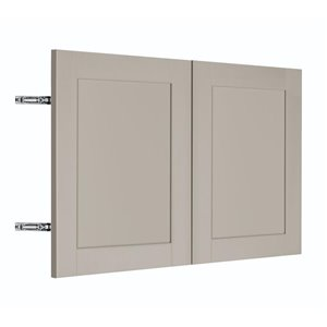 Nimble by Diamond 30-in W x 18-in H x 0.75-in D TrueColor Cloud Wall Cabinet Door