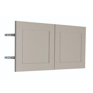 Nimble by Diamond 30-in W x 14-in H x 0.75-in D TrueColor Cloud Wall Cabinet Door