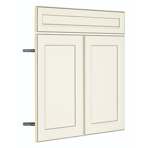 Nimble by Diamond 18-in W x 30-in H x 0.75-in D Toasted Antique Base Cabinet Door and Drawer Front