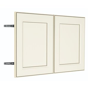 Nimble by Diamond 30-in W x 18-in H x 0.75-in D Toasted Antique Wall Cabinet Door