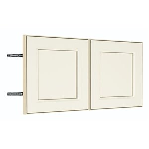 Nimble by Diamond 36-in W x 14-in H x 0.75-in D Toasted Antique Wall Cabinet Door