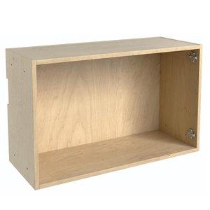 Nimble by Diamond 30-in x 18-in Maple Wall Box