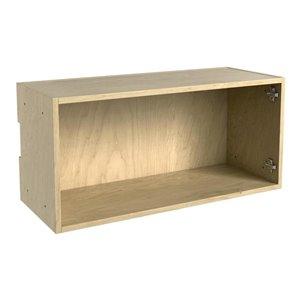 Nimble by Diamond 30-in x 14-in Maple Wall Box