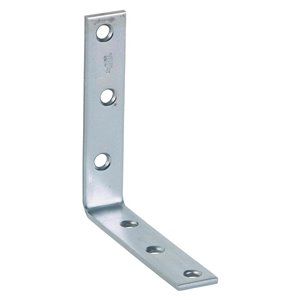 National Hardware 5-in Zinc Corner Brace