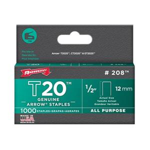 T20 1/2-in All-Purpose Staples (1,000-Count)