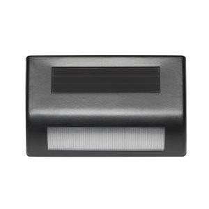 EZSolar 2 pack black solar LED deck/step light | Lowe's Canada