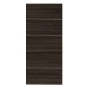 36-in x 80-in Espresso Murage Interior PVC Slab Door