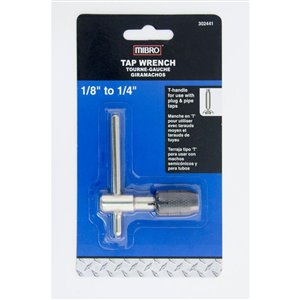 MIBRO 1/8-in to 1/4-in Adjustable Tap Wrench