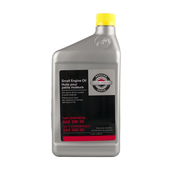 Briggs & Stratton 32 fl oz 4-Cycle Engines 5W-30 Full Synthetic Engine Oil