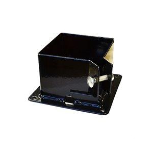 Black Fixbase 44 Deck Post Anchor Kit