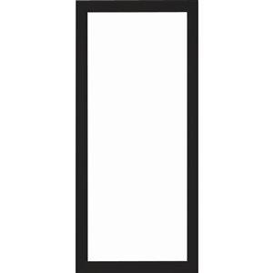 LARSON 34-in Black Aluminum Storm Door Frame
