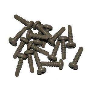 #10 x 3/4-in Brown Self-Drilling Deck Screws (50-Count)