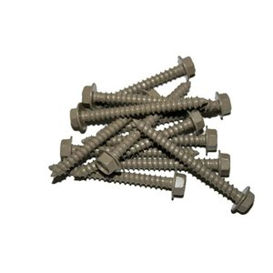 Brown Lag Screws 2 1/2-in (24-Count)