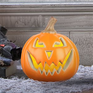 Gemmy (No Cinematic Universe) Lighted Usage Jack-O-Lantern  Constant Red Led Lights