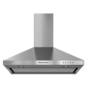 KitchenAid 30-in 400 CFM Wall-Mounted Range Hood (Stainless Steel)