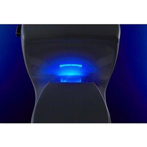 KOHLER Reveal Plastic Elongated Slow-Close Toilet Seat