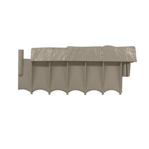 Suncast 10-ft Border Stone Edging (10-Pack)