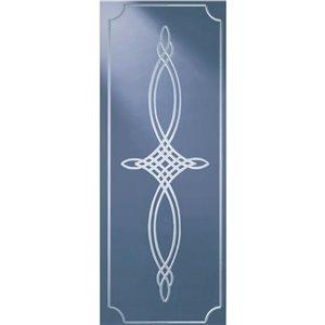 LARSON 34-in Elegant Bevel Glass