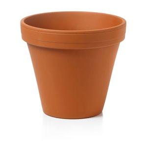 14-in Terra Cotta Round Standard Clay Pot