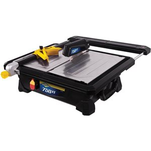 Q.E.P. 7-in 0.75 HP Wet Tile Saw with Rear Support