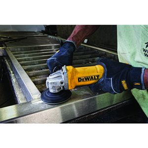 DEWALT 4.5-in 11-Amp Corded Small Angle Grinder