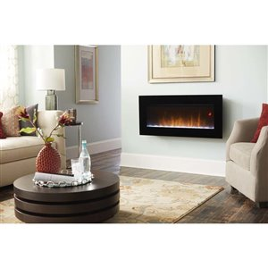 Dimplex 43 In Nicole Wall Mount Electric Fireplace Lowe