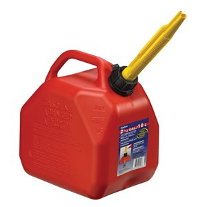 2.5-gal Plastic Gasoline Can