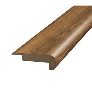 SimpleSolutions 2.375-in x 78.75-in Golden Chestnut Stair Nose Floor Moulding