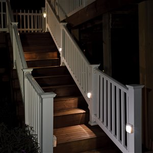 Mr Beams White Led Night Light with Motion Sensor Auto On/Off
