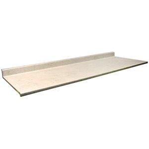 VTI Fine Laminate Countertops Wilsonart Calacatta Oro 25.5-in Depth Straight Cut Laminate Kitchen Countertop