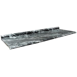 VTI Fine Laminate Countertops Wilsonart Magnata 25.5-in Depth Straight Cut Laminate Kitchen Countertop