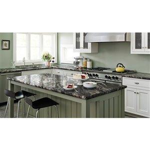 VTI Fine Laminate Countertops Wilsonart Magnata 25.5-in Depth Straight Cut Laminate Kitchen Countertop