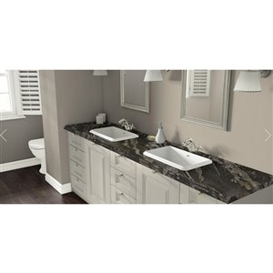 VTI Fine Laminate Countertops Wilsonart Magnata 22.5-in Depth Straight Cut Laminate Kitchen Countertop