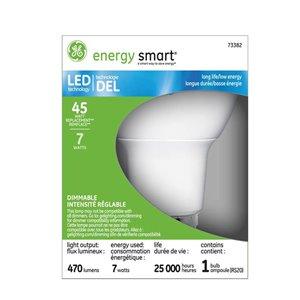 GE Led 7-Watt (45 W Equivalent) 2700 Kelvins R20 Medium Base (E-26) Soft White Dimmable Indoor Led Flood Light Bulb