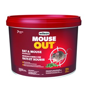 Wilson Predator Rat and Mouse Killer Rodenticide Pellets 720g