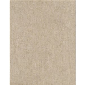 York Wallcoverings Gold Metallic Texture Strippable Non-Woven Paper Unpasted Classic Wallpaper