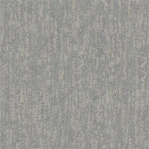 York Wallcoverings Silver Metallic Marble Strippable Non-Woven Paper Unpasted Classic Wallpaper