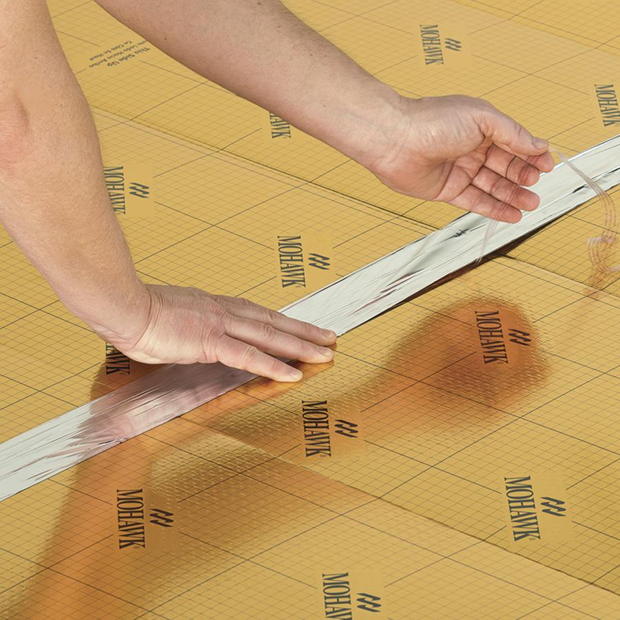 Mohawk Gold 100 Sq Ft Premium, Premium Underlayment Laminate Flooring
