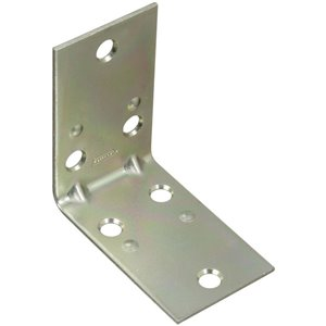 National Hardware 2-Pack 2.5-in Zinc-plated Corner Brace