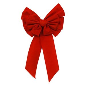 Holiday Living 14-in W x 28-in H Red Bow