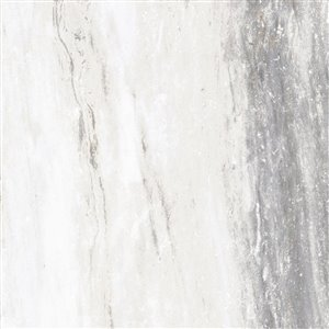 Style Selections Sovereign Stone 1 Pearl Porcelain Marble Floor and Wall Tile (Common: 24-in x 24-in; Actual: 23.75-in x 23.75-in)