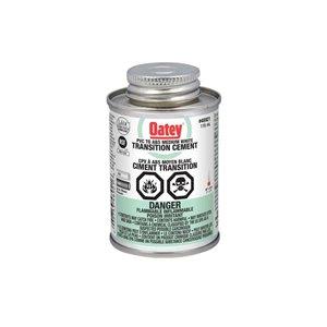 Oatey 4-fl oz PVC/ABS transition cement