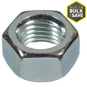 Hillman 7/16-in- 14 Zinc-Plated Standard (SAE) Hex Nut