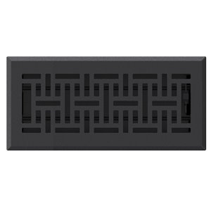 Accord Select 4 In X 10 In Black Cast Iron Wicker Floor