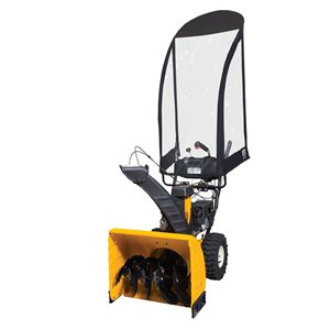 Classic Accessories Black Two-Stage Snow Blower Snow Cab