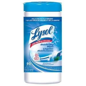 LYSOL Spring Waterfall Disinfecting Wipes